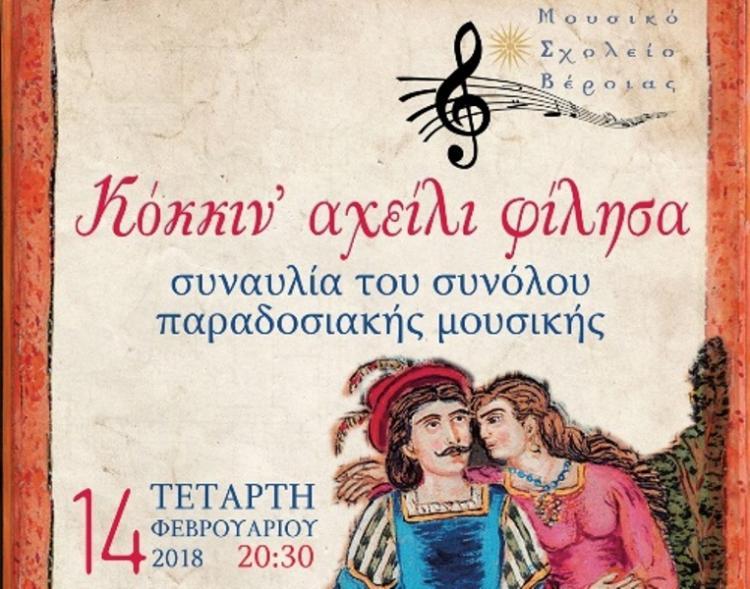 Συναυλία του συνόλου Παραδοσιακής Μουσικής του Μουσικού Σχολείου Βέροιας