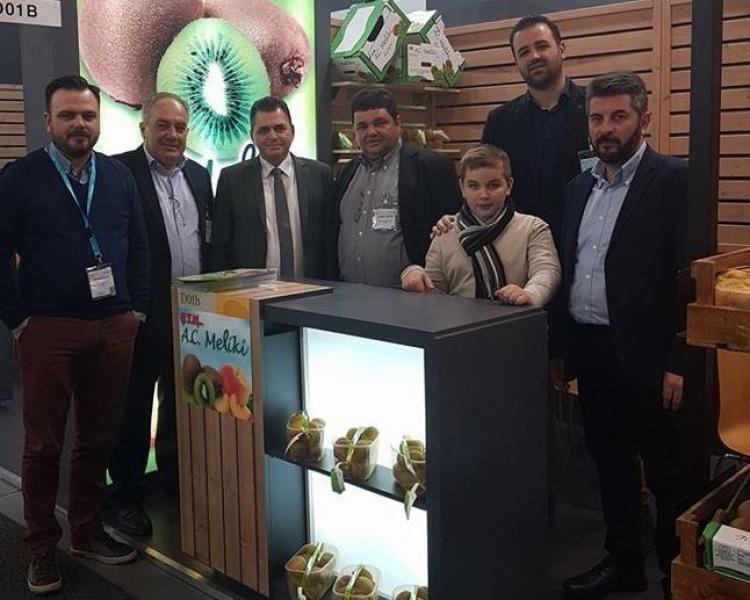Στην καρδιά της παγκόσμιας αγοράς νωπών φρούτων και λαχανικών στο Βερολίνο, η Ημαθία!