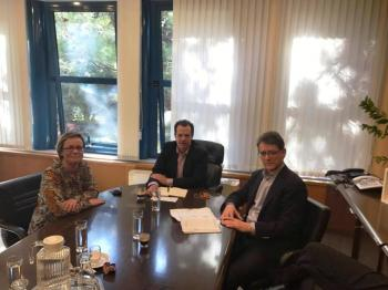 Στο Πρόγραμμα Δημοσίων Επενδύσεων 2017 η επικαιροποίηση-σύνταξη της μελέτης των δικτύων άρδευσης Βεργίνας-Αιγινίου