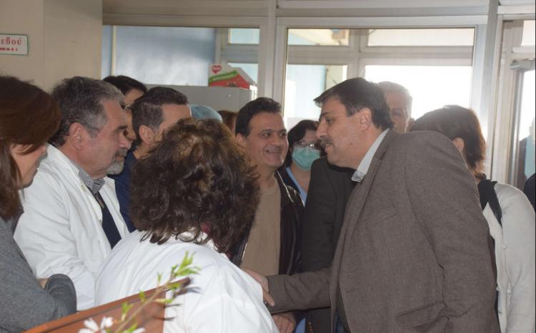 Δέσμευση Α. Ξανθού για 5 θέσεις γιατρών στο νέο τμήμα επειγόντων του Νοσοκομείου Βέροιας
