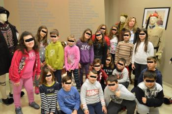 Μαθητές του 12ου Δημοτικού Σχολείου Βέροιας στο Βλαχογιάννειο μουσείο