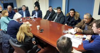 Διευρυμένη σύσκεψη στο γραφείο του αντιπεριφερειάρχη Ημαθίας για ζητήματα που αφορούν τον τοπικό κλάδο της βοοτροφίας