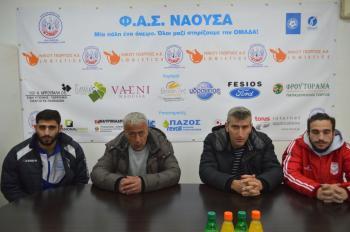 Φ.Α.Σ ΝΑΟΥΣΑ-ΚΑΜΠΑΝΙΑΚΟΣ (1-2) : Οι δηλώσεις των προπονητών και ποδοσφαιριστών