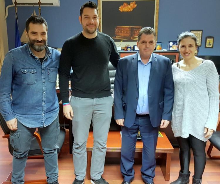Συνάντηση του αντιπεριφερειάρχη Ημαθίας Κώστα Καλαϊτζίδη με την Ένωση Καλλιτεχνών Φωτογράφων Κ-Δ Μακεδονίας