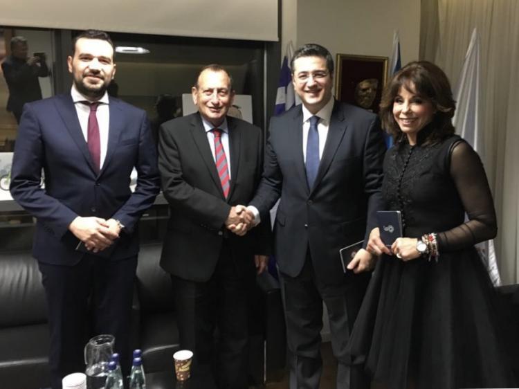Επίσκεψη και επαφές του περιφερειάρχη κεντρικής Μακεδονίας Απόστολου Τζιτζικώστα στο Τελ Αβίβ