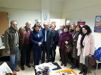 Συνάντηση αντιπροσωπείας του Συλλόγου Υπαλλήλων Δήμων Ημαθίας με τους βουλευτές της Π.Ε. για τους παιδικούς σταθμούς
