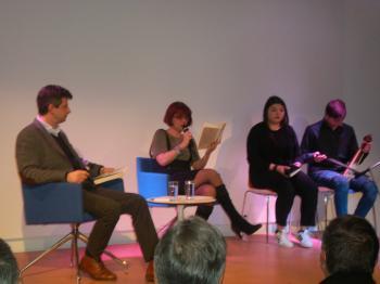 Παρουσιάστηκε το «Σοχούμ», πρώτο μυθιστόρημα της Γιώτας Ιωαννίδου, στη Δημόσια Βιβλιοθήκη Βέροιας