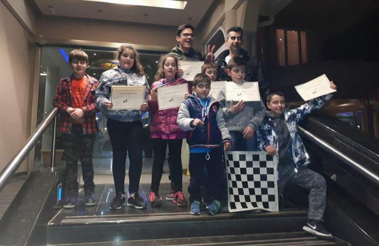 Διακρίσεις μαθητών του τμήματος σκάκι της Ευξείνου Λέσχης Νάουσας