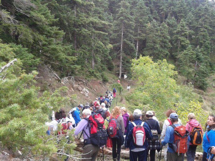 77η Πανελλήνια Ορειβατική Συνάντηση με τον Σύλλογο Χιονοδρόμων Ορειβατών Βέροιας