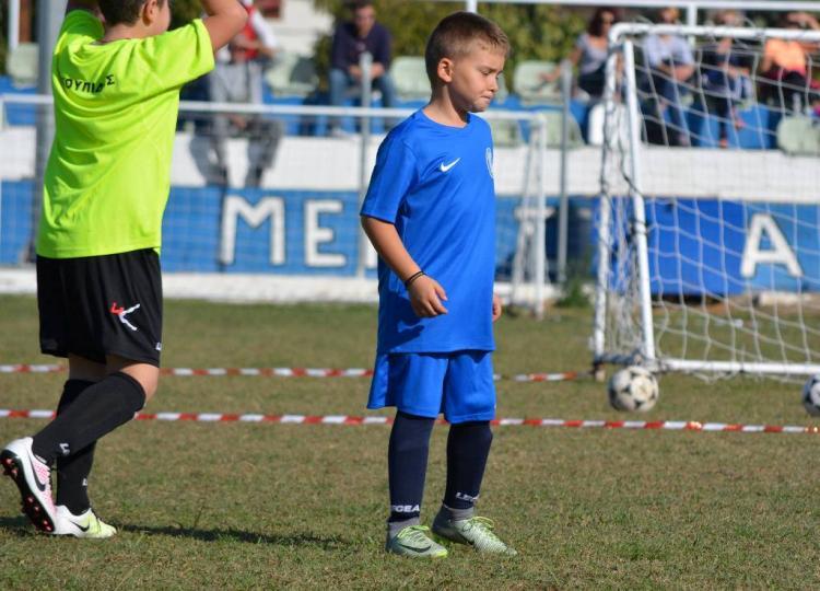 Η Δράση των τμημάτων της Ποδοσφαιρικής Ακαδημίας Μέγας Αλέξανδρος Αγίας Μαρίνας για το Σάββατο 10 /3/2018