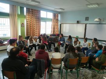 «Στερεότυπα, προκαταλήψεις και έμφυλη βία» : Βιωματικά εργαστήρια στο 4ο Δημοτικό Σχολείο