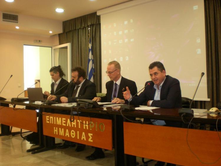 Σύσκεψη για τις πιθανότητες συνεργασίας Ελλάδας-Μολδαβίας σε πρωτογενή και δευτερογενή τομέα