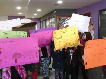 Αφιέρωμα στην Πανελλήνια Ημέρα κατά της σχολικής βίας στη Δημοτική Βιβλιοθήκη Αλεξάνδρειας