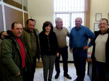 Επισκέψεις της κας Φρόσως Καρασαρλίδου σε ΑΣ Επισκοπής και Επιμελητήριο Ημαθίας