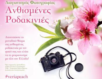 «Ανθισμένες Ροδακινιές» : Διαγωνισμός φωτογραφίας στο πλαίσιο του 3ου Φεστιβάλ Ροδάκινου