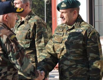 Διοικητής της 1ης Ταξιαρχίας Καταδρομών-Αλεξιπτωτιστών ο Ταξίαρχος κ. Βουνίσιος Δημήτρης