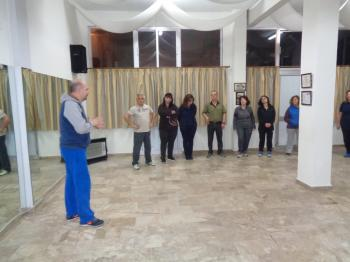 Παρουσίαση Ποντιακών Χορών στο Χορευτικό Όμιλο Βέροιας από το Βασίλη Ασβεστά