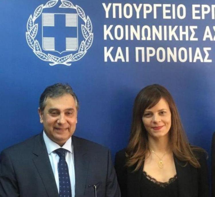 Συνάντηση ΕΣΕΕ με την Υπουργό Εργασίας κα Αχτσιόγλου : Τα εκκρεμή εργασιακά θέματα απαιτούν σύνεση και συναίνεση