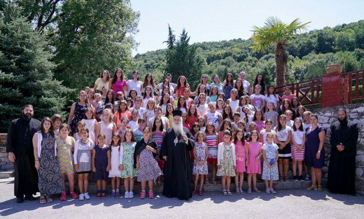 Τρίτη περίοδος φιλοξενίας παιδιών στις εγκαταστάσεις της Ιεράς Μονής Παναγίας Δοβρά