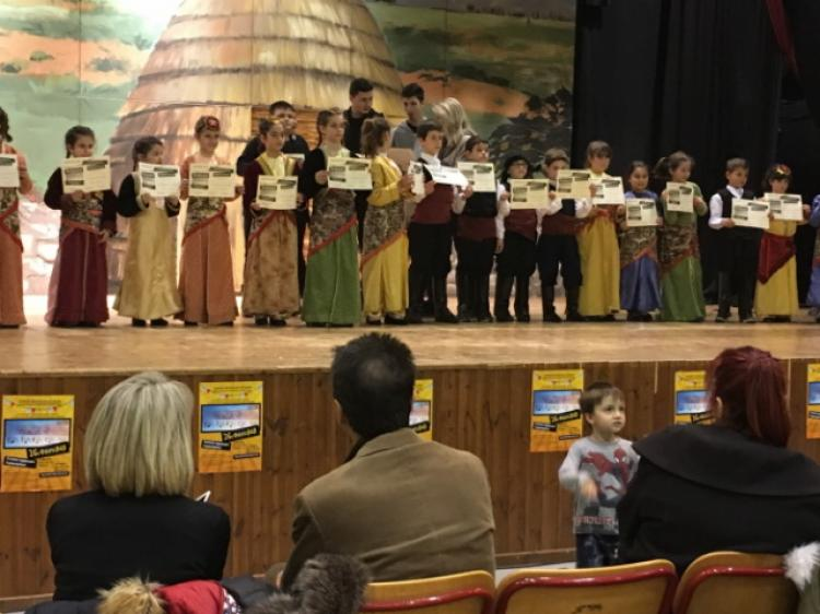 Στο 26ο Παιδικό Φεστιβάλ Δήμου Νεάπολης-Συκεών Θεσσαλονίκης το παιδικό τμήμα ποντιακών χορών της Ε.Λ.Βέροιας