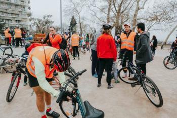 Με πολύ μεγάλη συμμετοχή η ποδηλατάδα στις ανθισμένες ροδακινιές!
