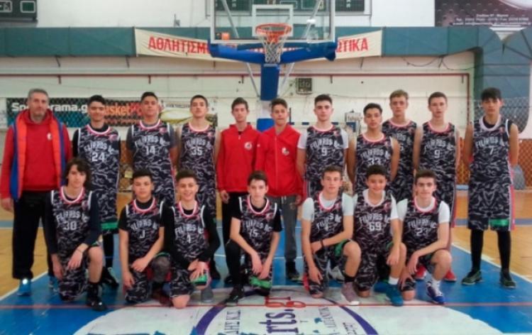 Με το δεξί η ομάδα μίνι του Φιλίππου Βέροιας στο τουρνουά μίνι της ΕΚΑΣΚΕΜ