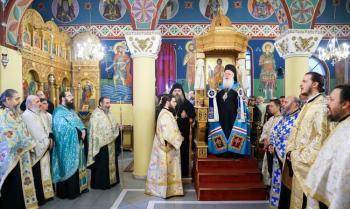 Πανηγυρικός Εσπερινός του Ευαγγελισμού της Θεοτόκου και ομιλία από τον Ιερομόναχο π. Βαρθολομαίο Εσφιγμενίτη στη Νάουσα