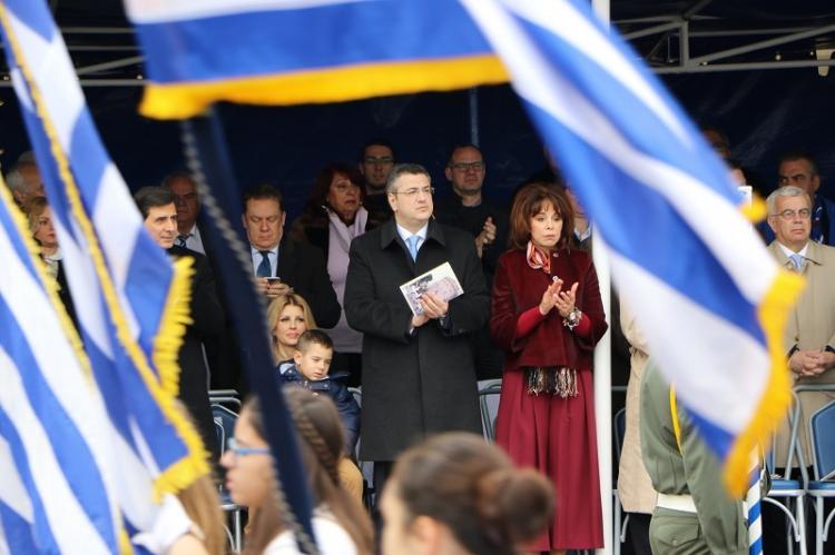 Ο Απ. Τζιτζικώστας στις εκδηλώσεις για την επέτειο της 25ης Μαρτίου και τον Ευαγγελισμό της Θεοτόκου