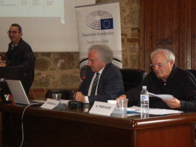 Πραγματοποιήθηκε και στη Βέροια το διευρυμένο περιφερειακό συνέδριο του Ευρωπαϊκού Κοινοβουλίου
