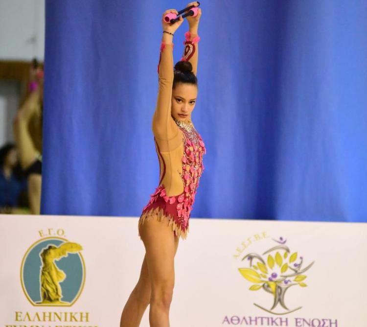 Ρυθμική Γυμναστική ΑΟΡΓ Βέροιας: Ασημένιο μετάλλιο η Ελισάβετ Χωματά στο διεθνές τουρνουά Ρ.Γ. «AphodheCue»