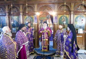 Προηγιασμένη Θεία Λειτουργία και το έθιμο με τις «Λαζαρίνες» στο Δάσκιο
