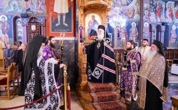 Ο Όρθρος της Μεγάλης Τρίτης στον Ιερό Ναό Αγίου Γεωργίου Μακροχωρίου