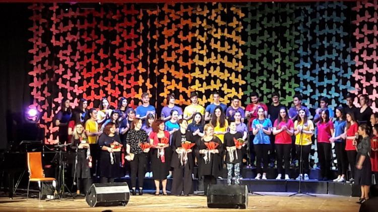 Η χορωδία «ΜΕΛΙΣΣΑΝΘΗ» του Δήμου Αλεξάνδρειας στην 3η Συνάντηση Παιδικών και Νεανικών Χορωδιών Νάουσας