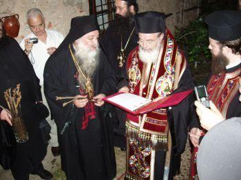 Η ξηρανθείσα άμπελος στον Πρόδρομο της Βέροιας και ο Μακαριστός Αρχιεπίσκοπος Χριστόδουλος