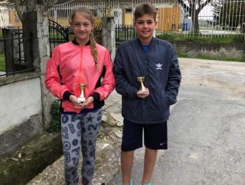 Όμιλος Αντισφαίρισης Βέροιας: 1ες θέσεις για την Αλεξιάδου Άννα και Βαν Ντερ Σπόελ Κάτια