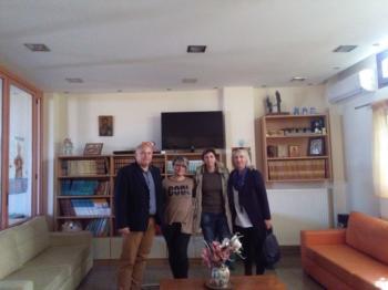 Επίσκεψη του Δ.Σ. του Π.Σ. Αγίου Γεωργίου Βέροιας στο Σπίτι της Βεργίνας της Πρωτοβουλίας «Πρωτοβουλία για το Παιδί»