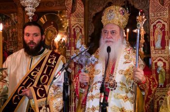 Δευτέρα της Διακαινησίμου στην Ιερά Μονή Αγίων Πάντων Βεργίνας
