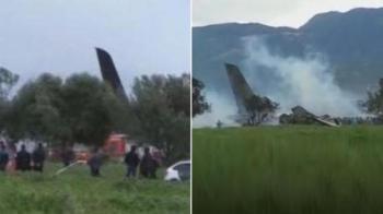 Πτώση στρατιωτικού αεροσκάφους στην Αλγερία - Φόβοι για πολλούς νεκρούς
