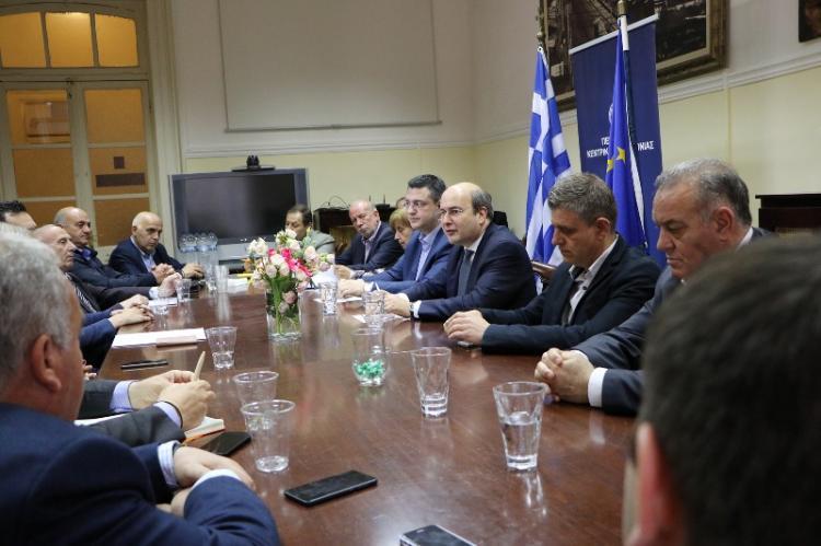 Οι αναπτυξιακές προτεραιότητες και προοπτικές της Κ. Μακεδονίας στο επίκεντρο της συνάντησης Α. Τζιτζικώστα και Κ. Χατζηδάκη