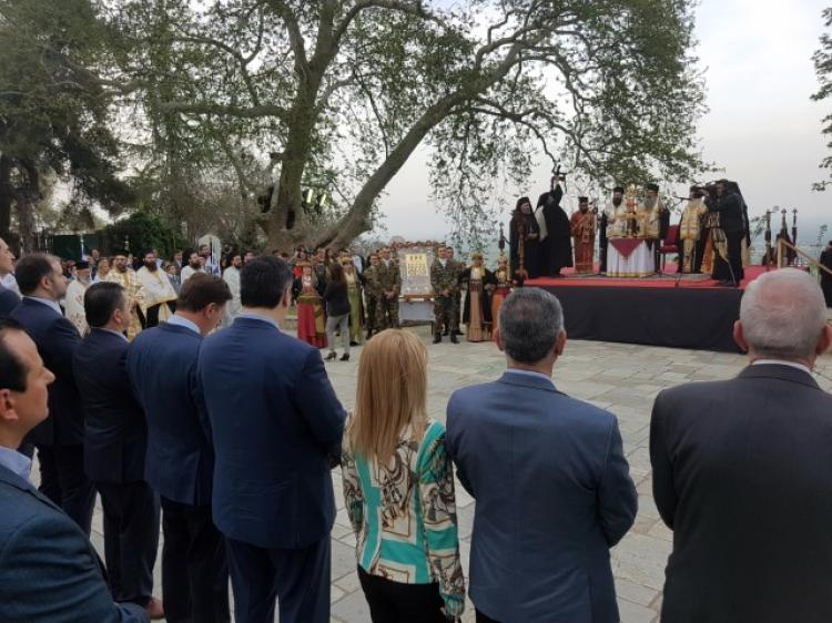 Η Νάουσα τίμησε τη μνήμη των 2.000 Αγίων Νεομαρτύρων της