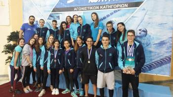 Με σημαντικές διακρίσεις οι κολυμβητές της Κ.Α.Ν. σε 36α Νιόβεια, 9ους Πτολεμαϊκούς Αγώνες και Πετρίδεια 2018