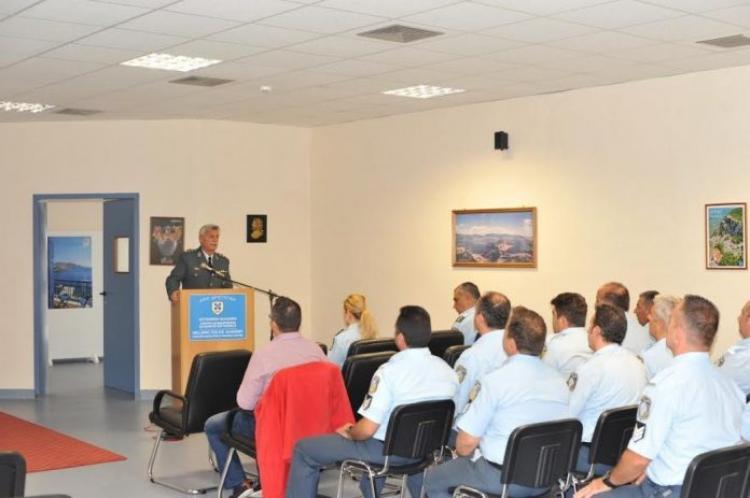 Πραγματοποιήθηκε και στη Βέροια σειρά εκπαιδεύσεων προσωπικού της ΕΛ.ΑΣ. σε θέματα ολοκληρωμένης διαχείρισης εξωτερικών συνόρων