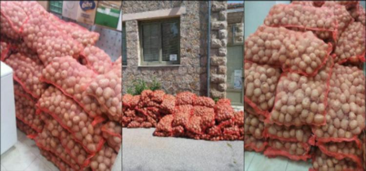 5.100 κιλά πατάτες διένειμε το Κοινωνικό Παντοπωλείο του Δήμου Βέροιας σε ωφελούμενα άτομα της Δομής