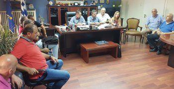 Κ. Καλαϊτζίδης σε σύσκεψη για την Τ66 :