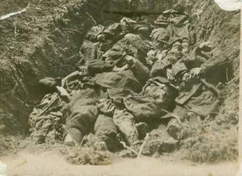 Μνημόσυνο των θυμάτων της ναζιστικής θηριωδίας στη μαρτυρική κοινότητα Πύργων (Κατράνιτσας)