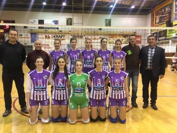 Πρωτάθλημα βόλεϊ Β' Εθνικής γυναικών ΕΣΠΕΜ : ΑΙΑΣ ΚΙΛΚΙΣ-ΠΟΣΕΙΔΩΝΑΣ ΒΕΡΟΙΑΣ 3–2