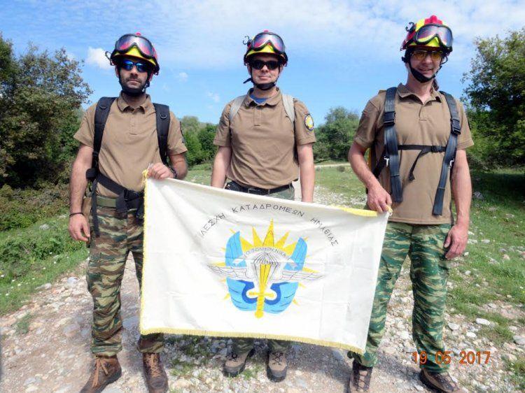 Εξοπλισμός 5.000 ευρώ από το δήμο Νάουσας στη Λέσχη Καταδρομέων Ημαθίας