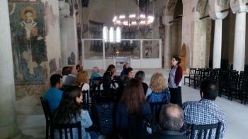 Επίσκεψη του Σχολείου Δεύτερης Ευκαιρίας Νάουσας στην Παλαιά Μητρόπολη και το Βυζαντινό Μουσείο Βέροιας