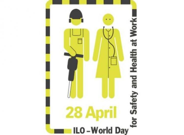 Δ/νση δημόσιας υγείας και κοινωνικής μέριμνας της ΠΚΜ : Παγκόσμια ημέρα για την υγεία και ασφάλεια στην εργασία η 28η Απριλίου