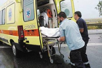 Θανάσιμος τραυματισμός 30χρονου οδηγού ΙΧΕ αυτοκινήτου στο ύψος του ΣΕΑ Πλατάνου
